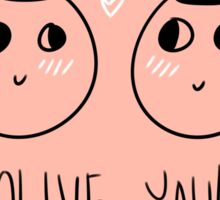 olive you! valentine Sticker