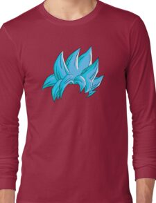 Goku Super Saiyan Blue Hair Long Sleeve T-Shirt