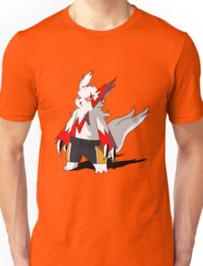Zangoose in Haikyuu shorts Unisex T-Shirt