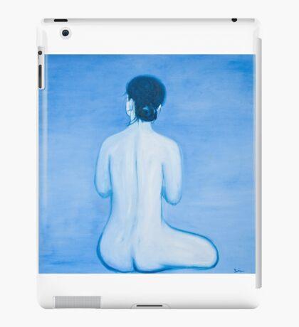 Blue Woman in oil iPad Case/Skin