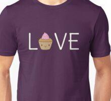 Cute Cupcake Love  Unisex T-Shirt