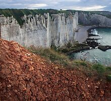 Red Soil on the Cliff - Travel Photography  by JuliaRokicka