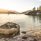 Leaving the Beach - Whytecliff Park, West Vancouver by Amy Mitchell