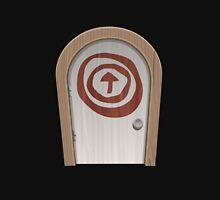 Glitch furniture door basic round white door Unisex T-Shirt