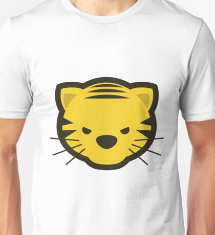 Kawaii Angry Tiger - Méchant Tigre Kawaii Unisex T-Shirt