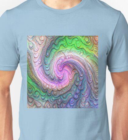 Frozen color Wave #DeepDream #Art Unisex T-Shirt