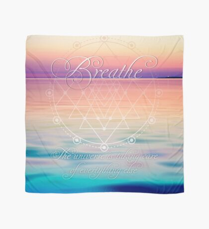 Breathe - Life Reminders Scarf