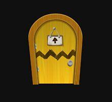 Glitch furniture door basic round yellow door Unisex T-Shirt