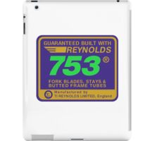 Reynolds 753, Enhanced iPad Case/Skin