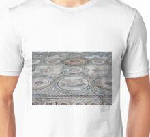 Mosaic antic decorative floor.  Unisex T-Shirt
