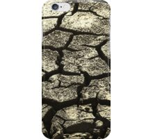 Parched Land - Clay Cracks and Nature Pattern iPhone Case/Skin