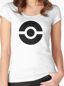 Pokeball Icon Women's Fitted Scoop T-Shirt