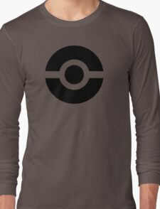 Pokeball Icon Long Sleeve T-Shirt