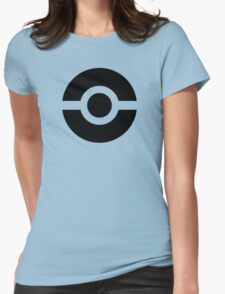 Pokeball Icon Womens Fitted T-Shirt