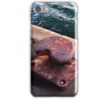 Rusty Bollard iPhone Case/Skin