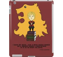Tyrion Lannister has a mind iPad Case/Skin