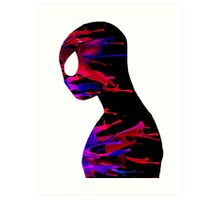 the amazing spiderman color Art Print