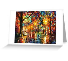 Colorful Night — Buy Now Link - www.etsy.com/listing/127706097 Greeting Card