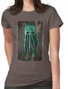 Cthulhu Ghoul   Womens Fitted T-Shirt