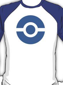 Pokeball Icon Blue T-Shirt