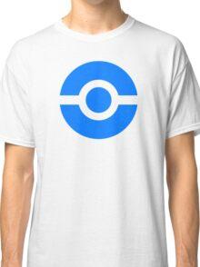 Pokeball Icon Blue Classic T-Shirt