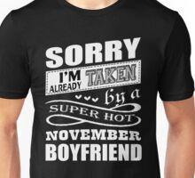 Super Hot November Boyfriend T Shirt Unisex T-Shirt