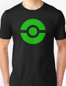 Pokeball Icon Green T-Shirt
