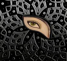 The Eye Art Print For Online Shopping by Muge Basak