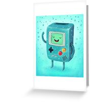 Game Beemo Greeting Card