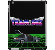 Team Sez Nissan Exa iPad Case/Skin