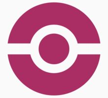 Pokeball Icon Pink by cluper