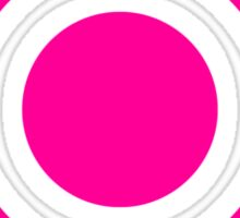 Pokeball Icon Pink Sticker