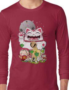 Maneki- Neko Long Sleeve T-Shirt