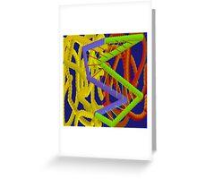 Sci Mega Pix by Mickeys Art And Design.Biz Greeting Card