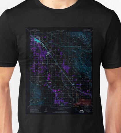 USGS TOPO Map California CA Coachella 297121 1956 62500 geo Inverted Unisex T-Shirt