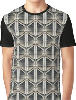 Geometricifiationised Graphic T-Shirt