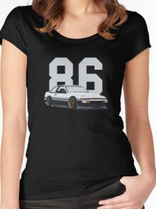 ae86 Stanced Women's Fitted Scoop T-Shirt