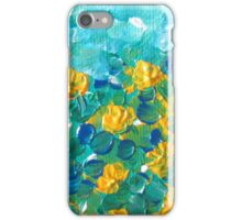 Aqua bloom iPhone Case/Skin
