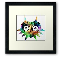 Majora's Mask Color Alt Framed Print