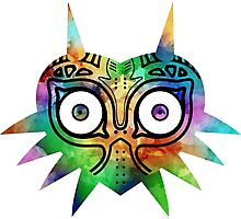 Majora's Mask Color Alt Photographic Print