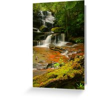 Somersby Falls .. Thanks to Wazza Greeting Card