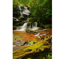 Somersby Falls .. Thanks to Wazza Photographic Print