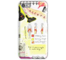 'My wife is allergic to housework, oh ho ho'  iPhone Case/Skin
