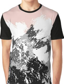 Mountainscape. Abstract nature. Graphic T-Shirt