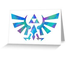 Hylian Crest Greeting Card