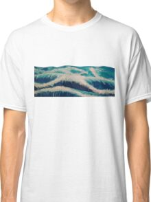 Watercolor Ocean Design Classic T-Shirt