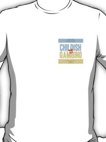 Childish Gambino Cover Design T-Shirt