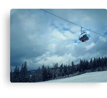 Family Cableway Canvas Print