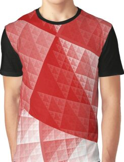 Red abstract pattern Graphic T-Shirt