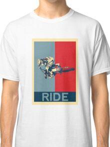 Ride - motocross, MX, enduro, dirt bike riding Classic T-Shirt